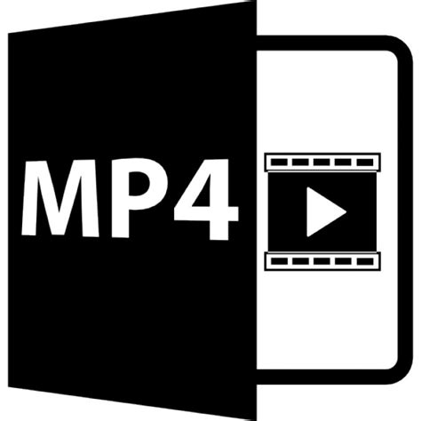 mp files free mp4 file format symbol icons free download