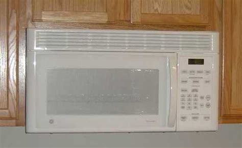 under cabinet microwave oven with fan close the gap between microwave and cabinet