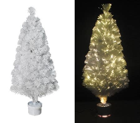 120cm white fibre optic christmas tree online shopping