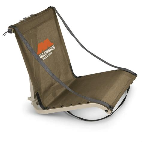 hang on treestand replacement seat millennium deluxe hang on tree seat 594579 hang on tree
