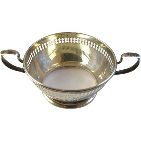 bowl holder estate sterling silver soup bowl holder reed barton from arnoldjewelers on ruby