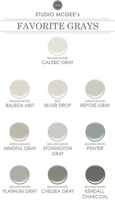 grey paint swatches ask studio mcgee gray paint studio mcgee