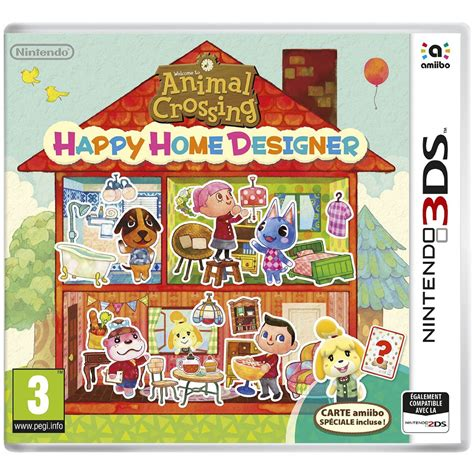 home design 3d jeux animal crossing happy home designer 1 carte amiibo animal crossing nintendo 3ds 2ds jeux