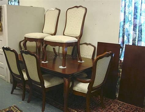 thomasville impressions 11 pc dining room set table w two