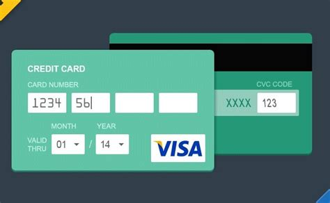 credit card graphic template free flat style credit card psd titanui