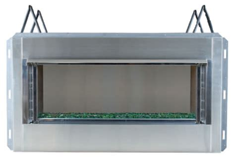 Outdoor Linear Gas Fireplace by Outdoor Luminary Linear Gas Fireplace By Superior S Gas