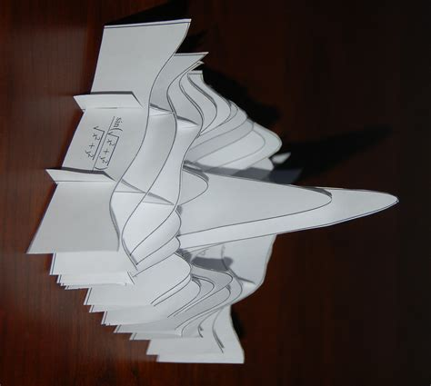 How To Make 3d Models With Paper - paper models of 3d plots mapleprimes