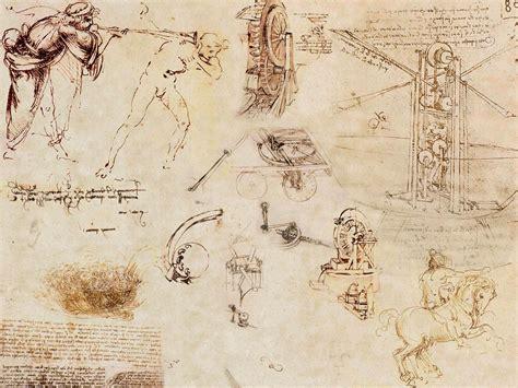 Sketches By Leonardo Da Vinci by Sketches Leonardo Da Vinci Wallpaper 1600x1200 229832