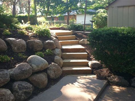 Large Rock Landscaping Ideas Simple Fences Landscaping Designs With Big Rocks