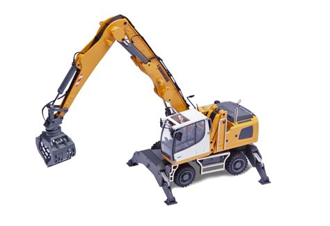 liebherr lh24 material handler w concrete shears dhs diecast collectables inc