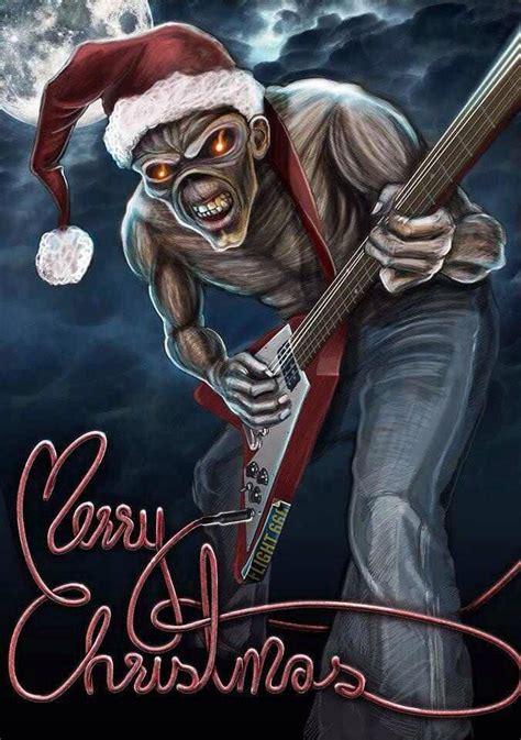 heavy metal christmas   erry hrs  heavy metal christmas iron maiden heavy