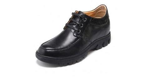 Shoppedia Casual Shoes Shb 9328 fashion black cow leather elevator casual shoes gain