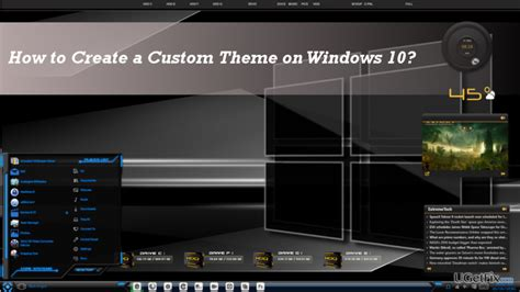 themes for windows 10 1709 how to create a custom theme on windows 10