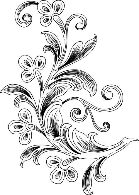 imagenes en blanco y negro de flores index of data 026 595 free floral vector brush pack png