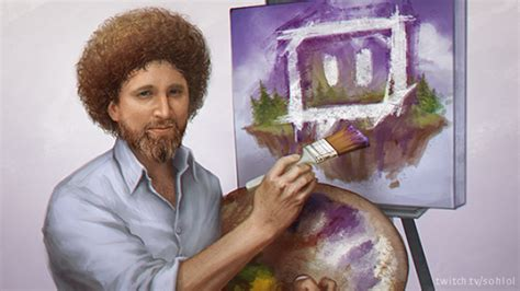 Twitch Is Bob Ross S The Of Painting For 8 189