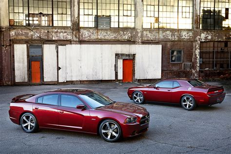 dodge challenger and dodge charger dodge unveils 100th anniversary charger and challenger