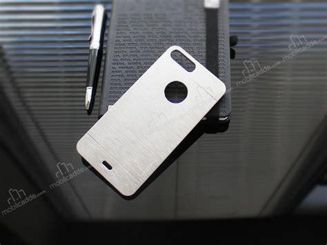 Mghardcase Motomo Metal For Iphone 4g4s motomo iphone 7 plus metal silver rubber k箟l箟f stoktan