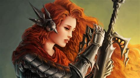 female warrior hair red tumblr girls with orange hair anime girl with orange