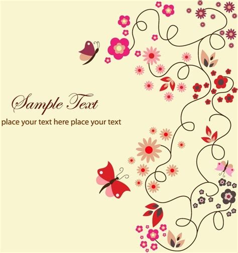 greeting card templates for corel wordperfect flourish free vector 750 free vector for