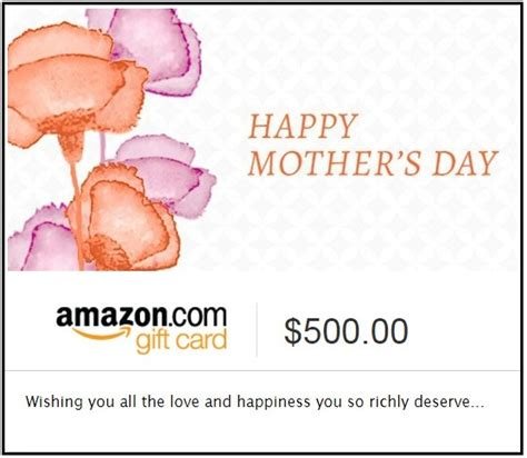 Amazon Gift Card Custom Amount - personalized mother s day gift 2017 apple watch