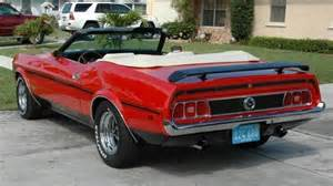 1973 Ford Mustang Convertible 1973 Ford Mustang Convertible 351 Aucton Results 21 500