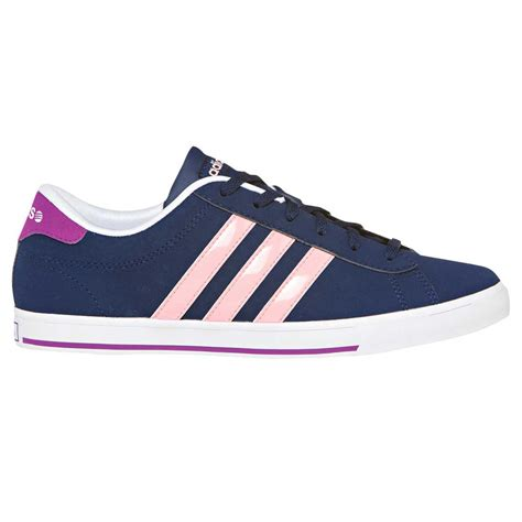 Adid S Neo blue silver womens adidas neo shoes