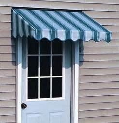 Fabric Door Awning Door Awnings Amp Ac300 Economy Door Or Window Cover