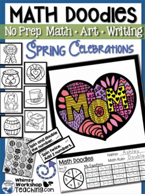 math doodle ideas snowy day tutorial whimsy workshop teaching