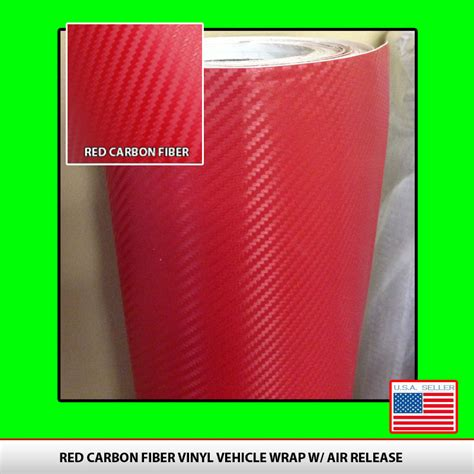 over lay weave wraps red carbon fiber vinyl alphavinyl
