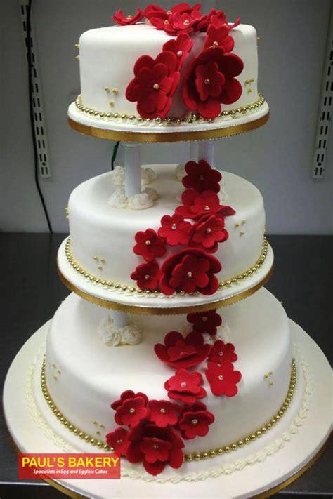 Wedding Cake Icing Options by Icing Wedding Cake Wic 076 Paul S Bakery