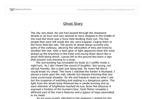Scary Narrative Essay by Story Essay Exles