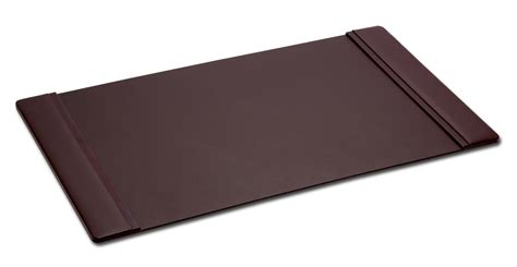 p3425 chocolate brown leather 38in x 24in desk pad