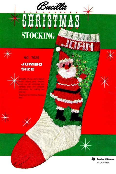 pdf pattern for christmas stocking knit christmas stocking pdf pattern by kinsiewoolshop on