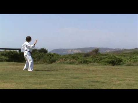 youtube taekwondo pattern 5 wtf taekwondo patterns taegeuk oh jang taegeuk 5 youtube