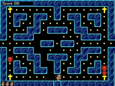 Online game pac-man flash online