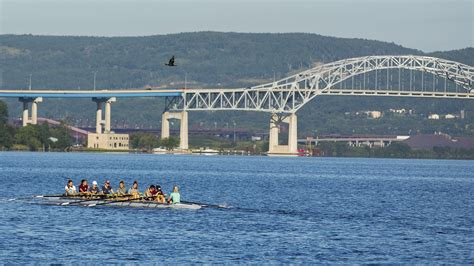 duluth boat club history duluth rowers scull forward try to recapture heyday mpr