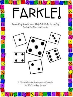 printable directions for farkle farkle in the classroom in the classroom plays and places