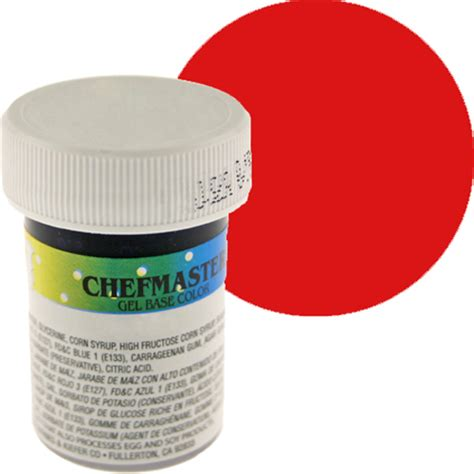 chefmaster food color gel item 41 2385