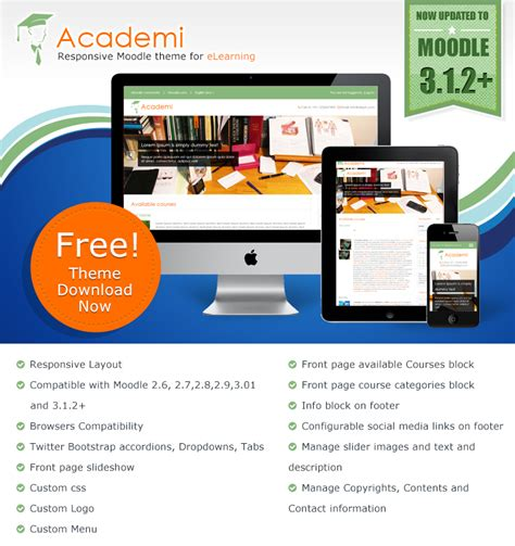 moodle theme modification moodle plugins directory academi