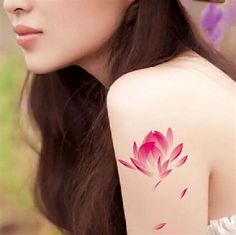small pink tattoos 25 best ideas about pink lotus on