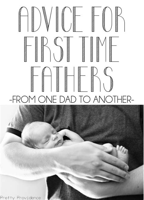 Advice For New Dads - Pretty Providence