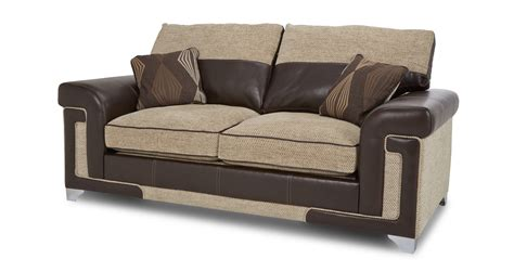 dfs settees dfs taboo oatmeal formal back settee 2 seater deluxe
