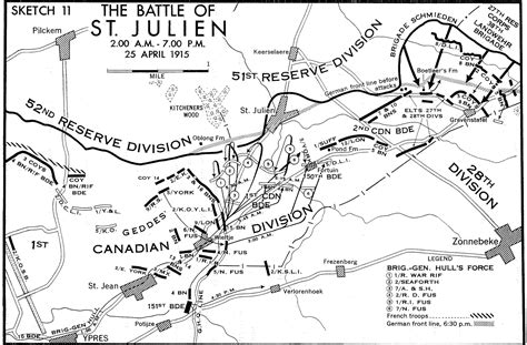 2nd Ypres Maps