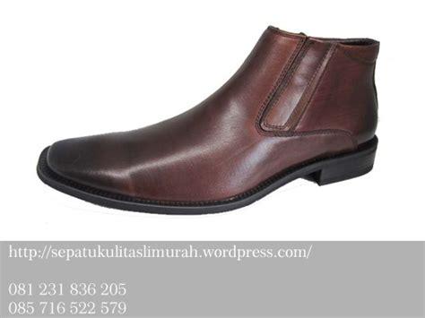 Sepatu Kicker Cibaduyut jual sepatu kulit sepatu pria sepatu boots kulit sepatu