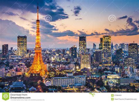 tokyo japan stock image image  financial scenery