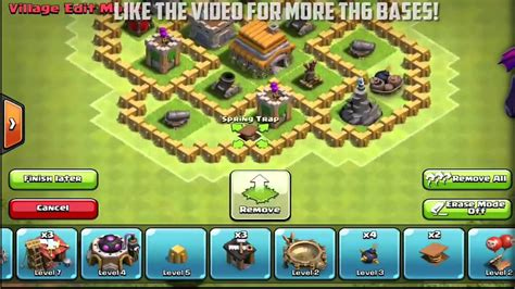 coc th6 layout with air sweeper best town hall 6 defense trophy war base with air sweeper