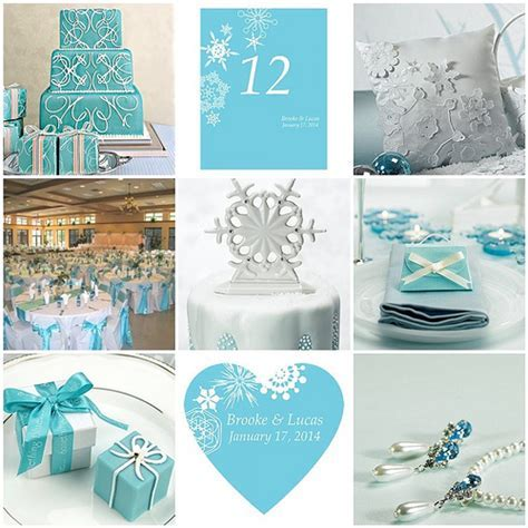 Winter Wedding Theme   Winter Finery and Tiffany Blue   Flickr