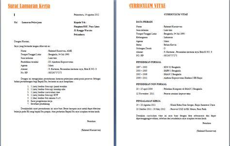 membuat cv lamaran contoh membuat surat lamaran kerja reviewtopterbaru