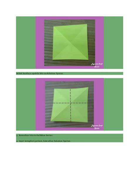 membuat origami bunga tulip membuat origami bunga tulip