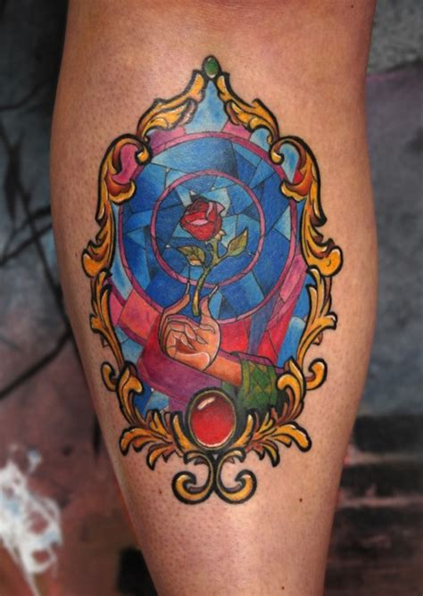 disney rose tattoo 138 amazing disney tattoos photos